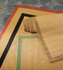 Indoor Outdoor Kitchen Rugs Indoor Outdoor Stain Resistant Textured Lanai Rug With Solid Color
