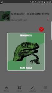 Philosoraptor Meme Maker - meme maker mimi maker apk download free entertainment app for