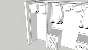 refrigerator cabinet side panels refrigerator cabinet to the ceiling finish carpentry contractor talk