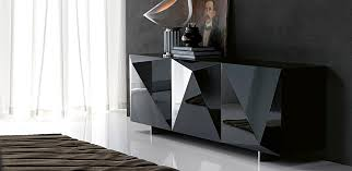 Black Modern Sideboard Fabulous And Functional Modern Sideboards With A Touch Of Italian