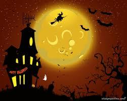 cartoon happy halloween background copperwitch october 2012