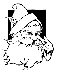 vintage christmas clip art cute santa the graphics fairy