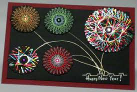 a new year greeting card that s easy to make