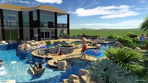 residential lazy river home awesome lazy river swimming pool