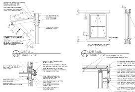 Window Framing Diagram by Ynez Cottage Plans