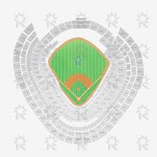 Diamondbacks Stadium Map Yankee Stadium Baseball Sports Seating Charts
