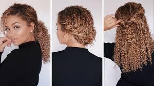 3 super easy hairstyles for 3b 3c curly hair bella kurls