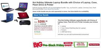 walmart pre black friday 2012 sale features hp laptops all in one