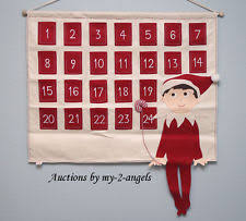 pottery barn no filling fabric advent calendars ebay