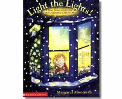 hanukkah books light the lights a story about celebrating