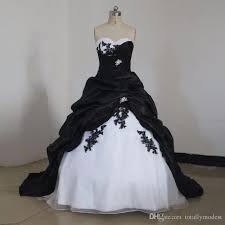 black wedding dresses black and white princess wedding dresses 2017 gown