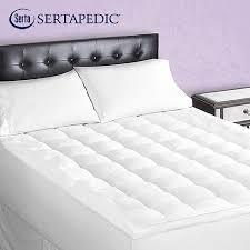 sertapedic superior loft down alternative mattress pad walmart com