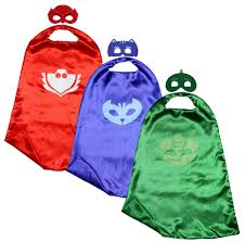 3 pj masks dress sets squoodles