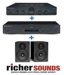 home theater experts cambridge audio s30 speakers am5 amp cd5 cd player hi fi separate