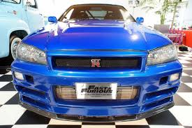 nissan skyline fast and furious 6 paul walker u0027s nissan skyline gt r from fast u0026furious 4 up for sale