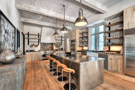 Industrial Kitchen Islands 10 Modern Kitchen Island Ideas Pictures Regarding Industrial