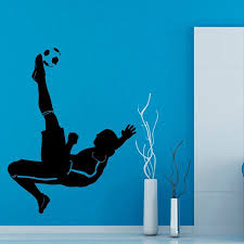 wall decals soccer color walls your house