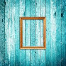 picture frame on blue wood background stock photo picture and