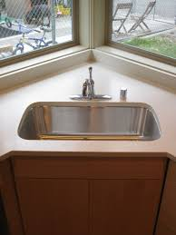 corner kitchen sink designs home and interior