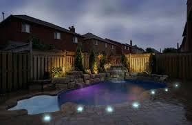 lighting around pool deck landscape lighting around pool solar led lights around pool deck add