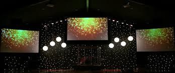 Church Lighting Design Ideas Crisp Night Church Stage Design Ideas