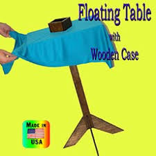 Floating Table Magic Fakers Floating Table With Box