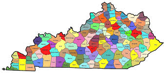 kentucky map kentucky county map roundtripticket me