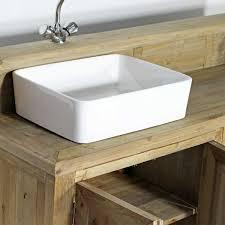 meuble de charme meuble salle de bain bois massif 2 vasques 4 portes 2 niches