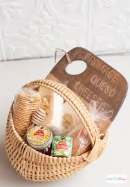 gourmet cheese gift baskets honey cheese gift basket with antiqued bamboo cutting board