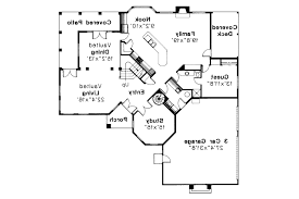 34 floor plan with front courtyard home interior design spanish