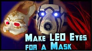 Halloween Lights For Sale How To Make Led Eyes For A Mask Light Up Eyes Tutorial Cheap By