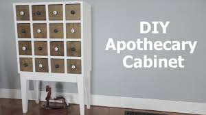 making an apothecary cabinet youtube