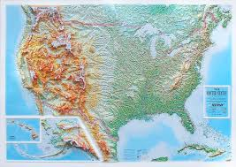 us relief map 3d raised relief map usa 3d usa us states 3d raised relief maps