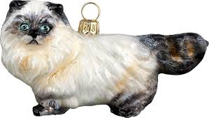 himalayan cat ornament eclectic ornaments by