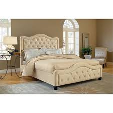 hillsdale furniture trieste fabric bed king buckwheat