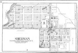 plat maps 1908 plat of sherman springville township