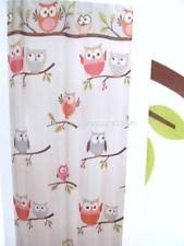 Owl Fabric Shower Curtain Novelty Saturday Knight Ltd Shower Curtains Ebay