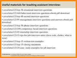 8 teaching assistant cover letter nurse resumed