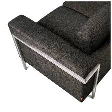 grey tweed sofa gus modern davenport sofa truffle fabric eurway