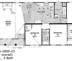 28 x 80 double wide mobile home floor plan koshti