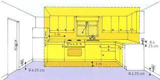hauteur entre meuble bas et haut cuisine hauteur meuble haut cuisine merveilleux norme hauteur meuble haut