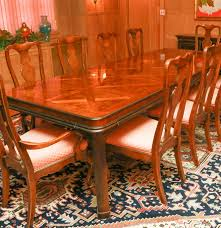 Drexel Heritage Dining Room Chairs Drexel Heritage Connoiseur Dining Room Set Ebth