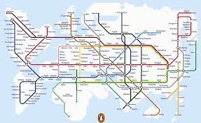 The Best Map Of The World by 17 London Underground Maps You Never Knew You Needed