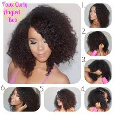 angled bob for curly hair 3 gorgeous curly styles for prom diy the layer loxa beauty