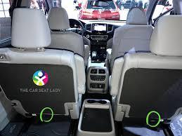 do all honda pilots 3rd row seating the car seat honda pilot