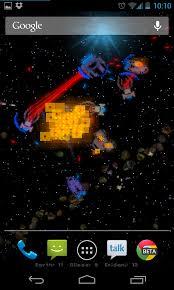 pixel fleet live wallpaper wages war on your home screen