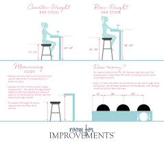 34 bar stool seat height how to choose the right bar stool height improvements blog