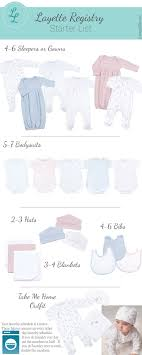 baby gift registry list newborn baby layette checklist at liam and lilly