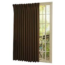 decorating ideas sliding glass door curtains decorating eclipse curtains black blackout panel for home