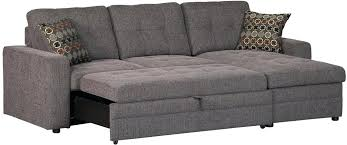 sofa with chaise and sleeper compact sleeper sofa younited co